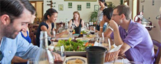 Wine tours and cooking lessons